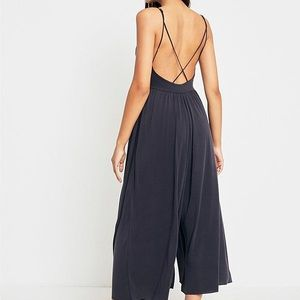 a8137eb128f Urban Outfitters Pants - UO Molly Cupro Culotte Jumpsuit